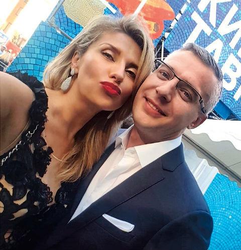 Екатерина Архарова с новым избранником