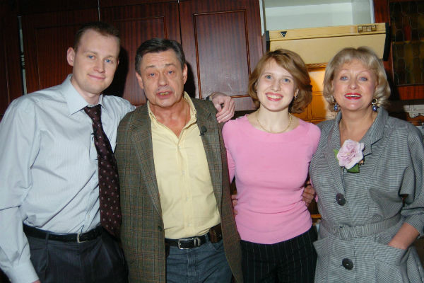 Семья всегда поддерживала Николая Караченцова