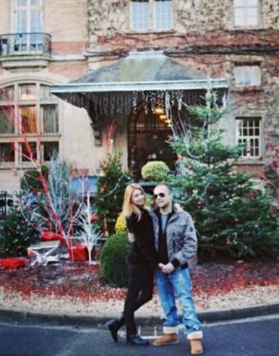 DJ Грув с женой Александрой провели праздники в Париже