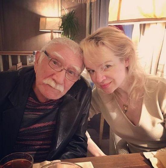 Армен Джигарханян женился на Виталине Цымбалюк-Романовской в 2016 году