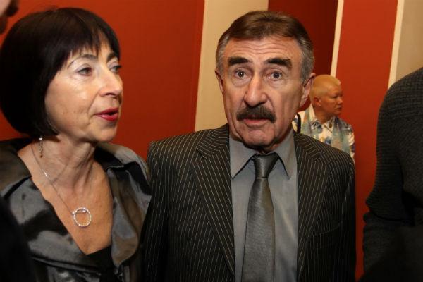 Актер с супругой Анной