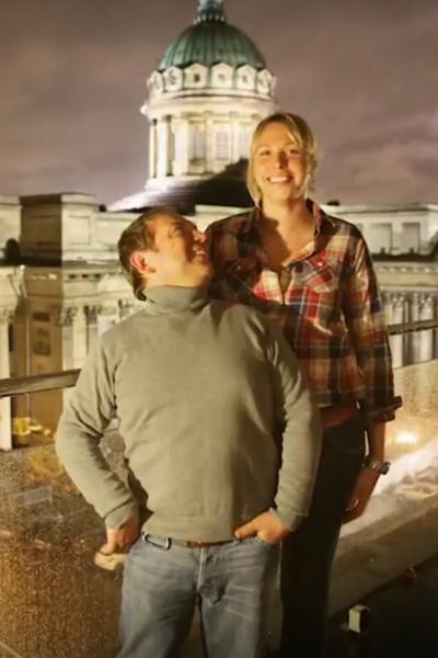 Федорцов обрел семейное счастье рядом с супругой Екатериной