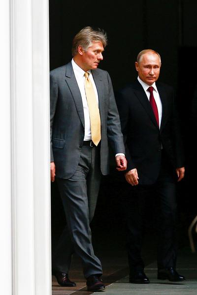 В 2012-м Песков стал пресс-секретарем Владимира Путина