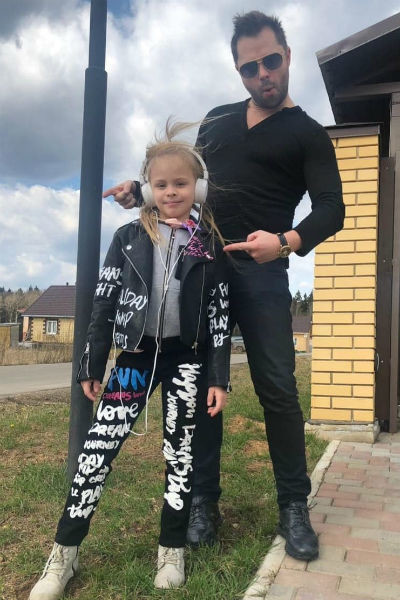 Виталий с дочерью Миланой