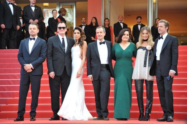 Актеры, продюсеры и Квентин Тарантино представили новый фильм