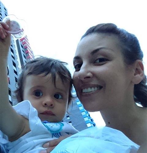 Татьяна Найник с дочкой Верой