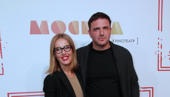Максим Виторган и Ксения Собчак повеселились с сыном в развлекательном центре