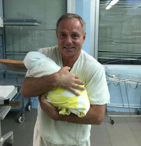 Александр Мохов с сыном Матвеем