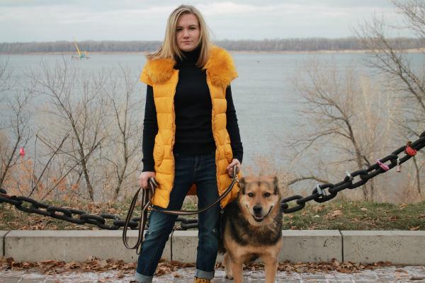 Яна помогает животным, потому что считает их самыми беззащитными