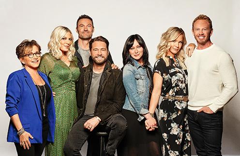 Актеры приняли участие в проекте, снятом по мотивам сериала «Беверли-Хиллз 90210»