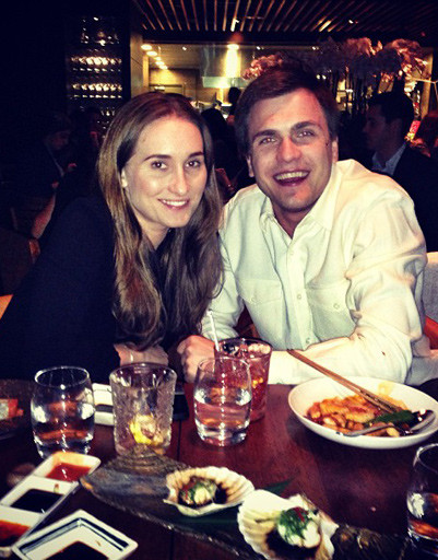 Ужинать пара предпочитала в ресторане Аркадия Новикова Novikov Restaurant & Bar