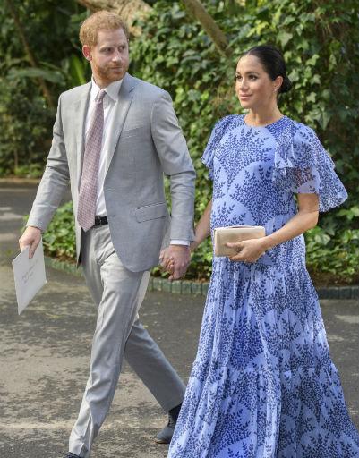 Даже во время беременности Меган сопровождала мужа во время деловых поездок и встреч