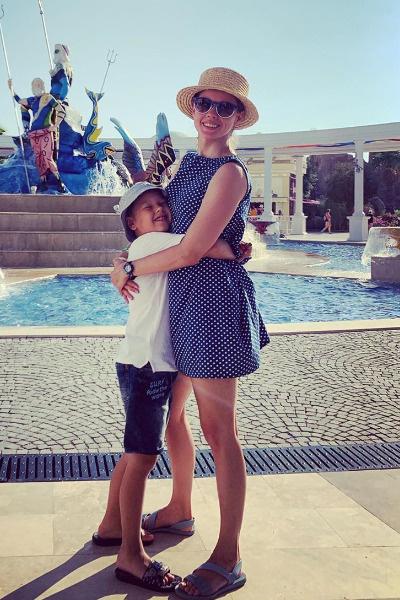 Катерина с сыном Германом
