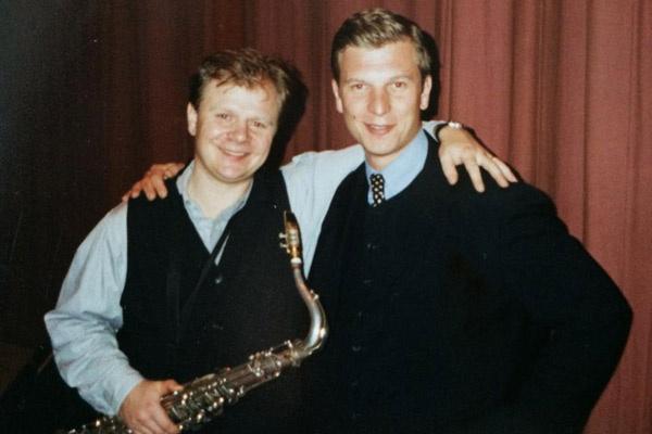 С Игорем Бутманом в 1996 году