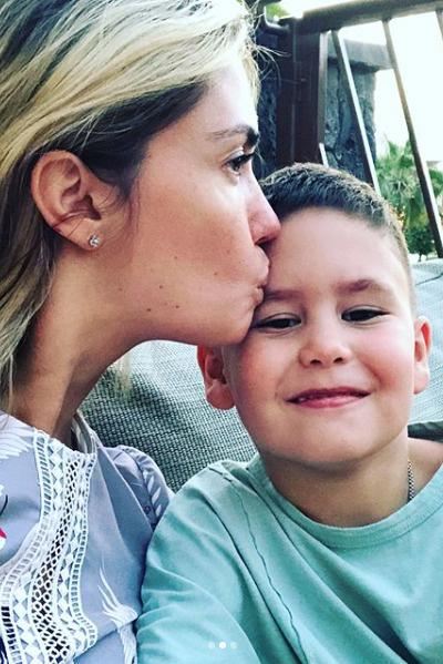 Агата рассказала о болезни сына