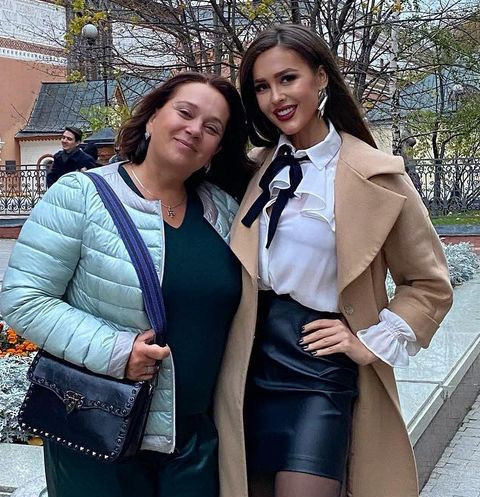 Ирина Александровна с дочерью Аней