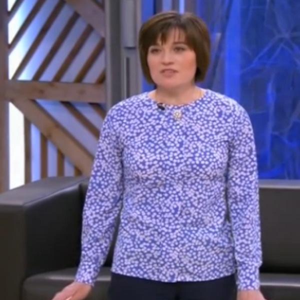 Мама Сергея Ольга