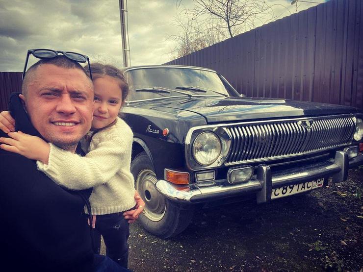 Егор Крид с дочерью