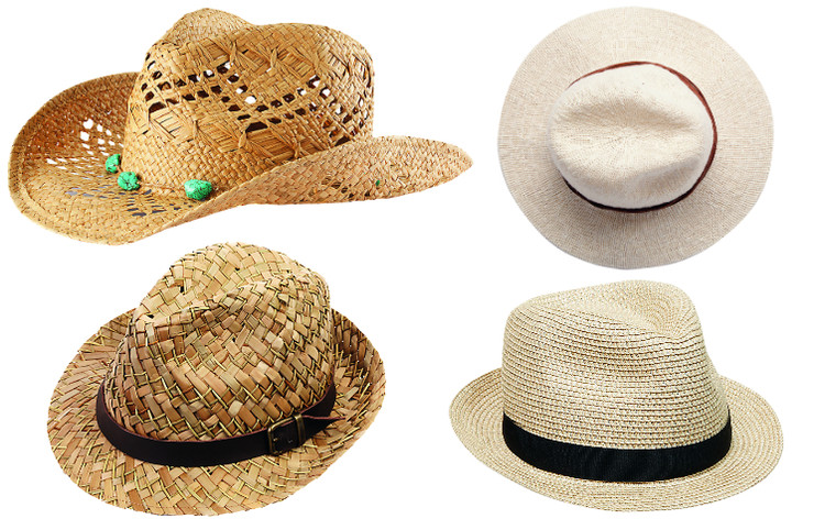 H&M Соломенная шляпа, 699 руб. Oysho Панама, 899 руб. Gant Шляпа, 2800 руб. American Eagle Шляпа, 799 руб.