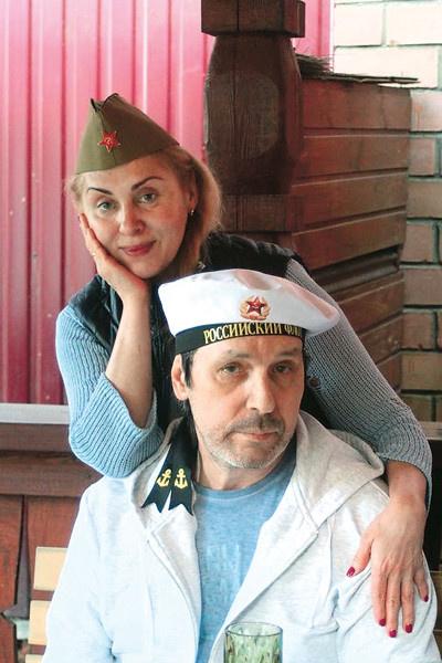 Супруга Марина - главная опора Николая Носкова