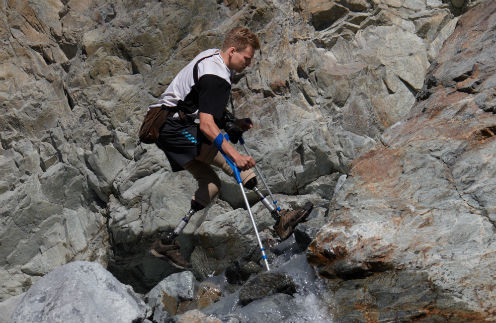 Во время 20-дневного похода по горам Норвегии. Июль 2012 года