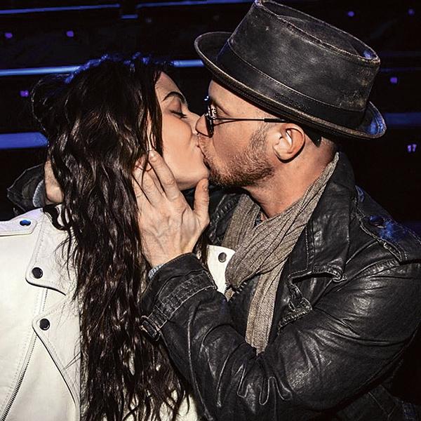 На показе Лолиты Зятковской Хрусталев не постеснялся поцеловать Диану