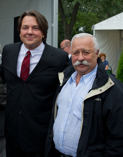 Константин Эрнст и Леонид Якубович