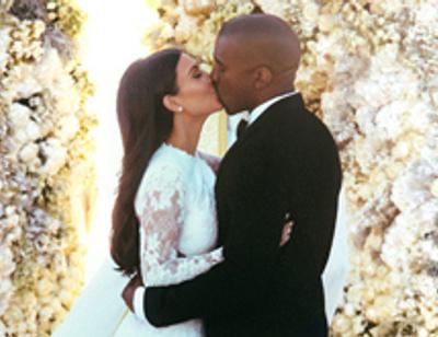 Роскошные фото со свадьбы Ким Кардашьян появились в сети