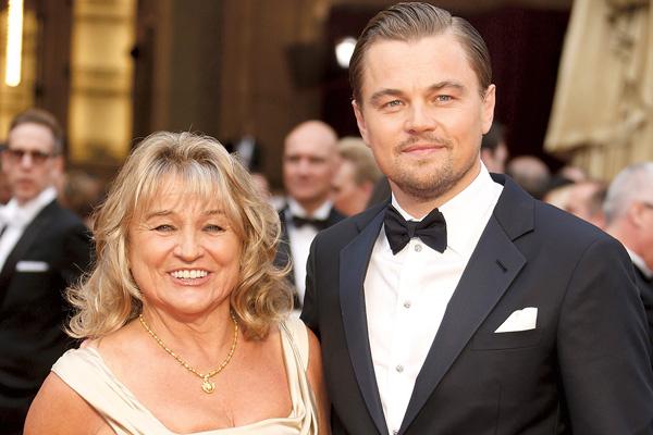 Мнение мамы Ирмелин Инденбиркен для Ди Каприо – закон. Женщина одна воспитывала знаменитого сына