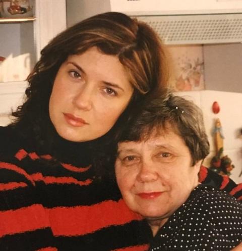 Вера Сотникова с матерью Маргаритой Петровной