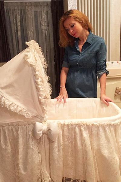 6 декабря 2017-го у звезды родилась дочка