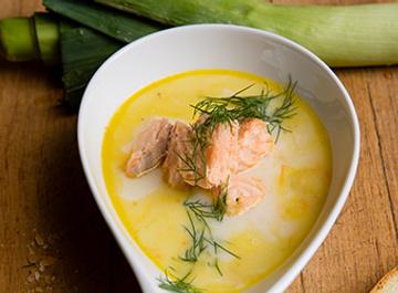 Рыбный суп с самбукой