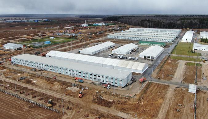 Новая больница для пациентов с коронавирусом, которую построили за месяц – фото