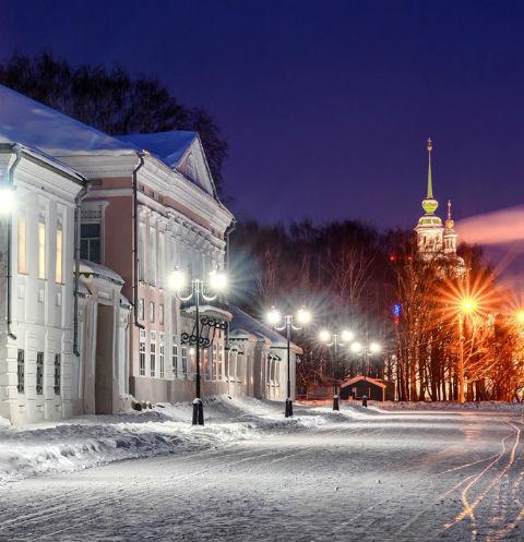 Великий Устюг — один из лучших городов для зимнего отпуска