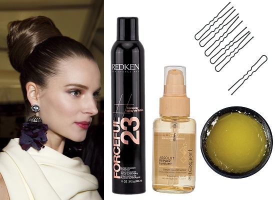 Redken Лак для волос Forceful, L'Oreal Professionnel Сыворотка для восстановления кончиков волос Absolut Repair,  Diva Набор шпилек для волос, Lush Желе для укладки Zest