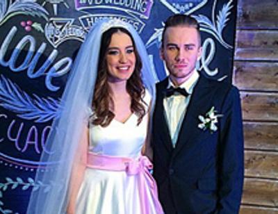 Первые фото со свадьбы Виктории Дайнеко
