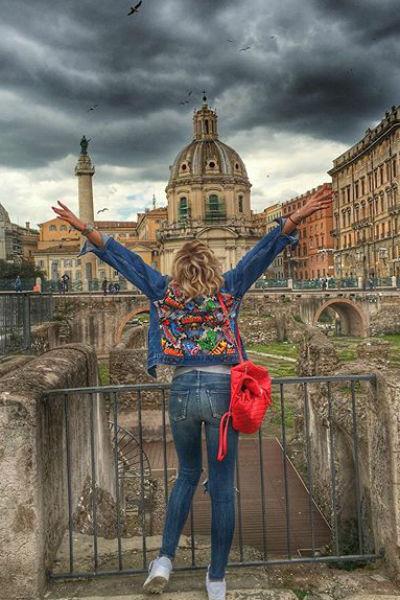 Ольга отправилась в один из любимых ее городов