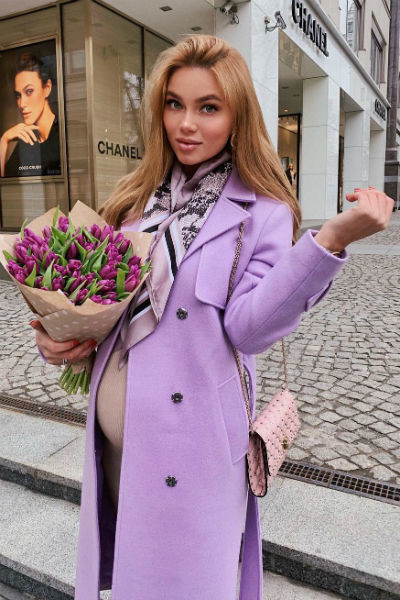 Ульяна родила первенца