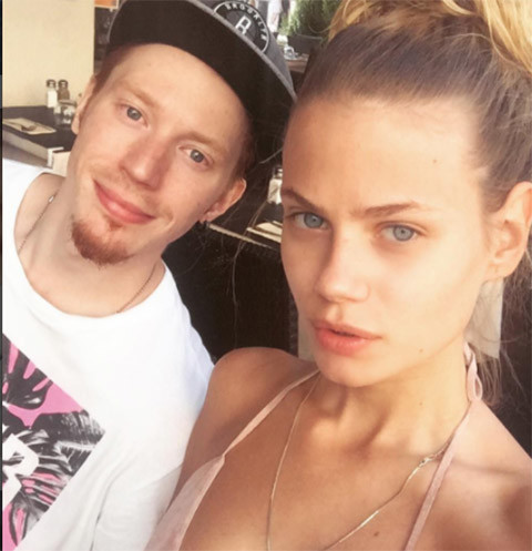 Никита Пресняков и его девушка Алена Краснова