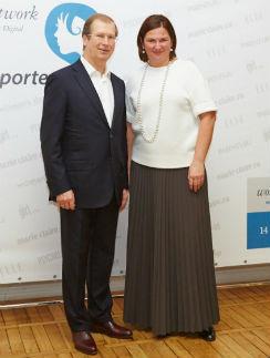 Виктор Шкулев и Юлия Соловьева