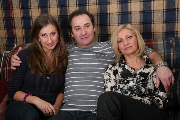 Семен Стругачев с семьей