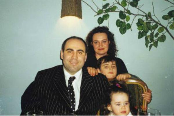 Иосиф Пригожин с первой семьей