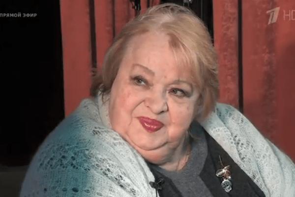 В эфире программы также вспомнили одно из последних интервью актрисы