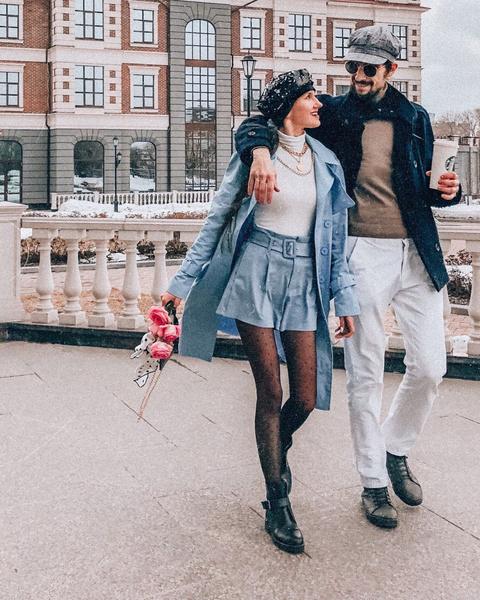 Кристина Журавлева с супругом