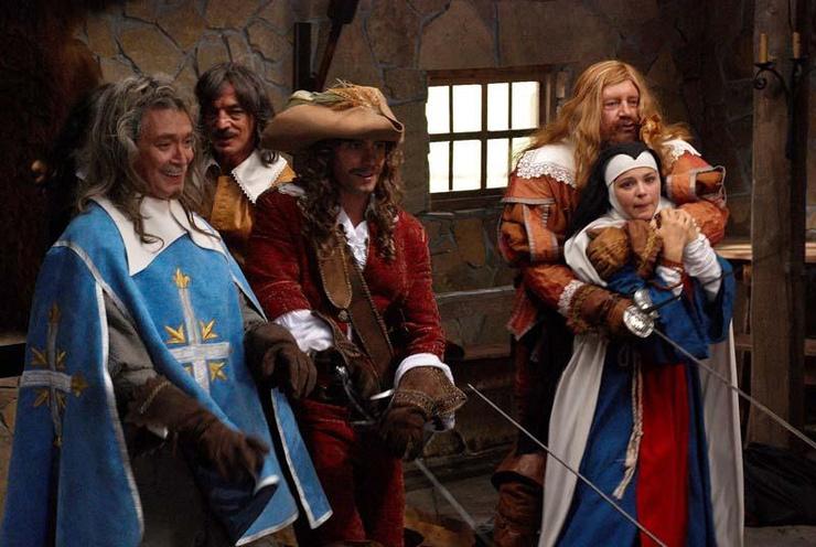 Последняя картина о мушкетерах вышла на экраны в 2012 году