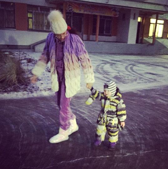 Новости: Эвелина Бледанс рассказала о том, как ее сын пошел в детский сад – фото №2