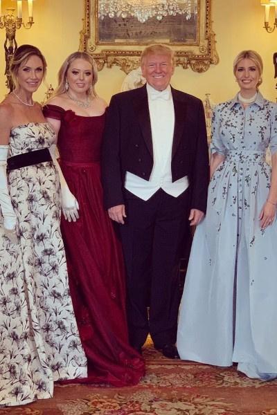 Тиффани Трамп присутствовала на встрече с королевской семьей