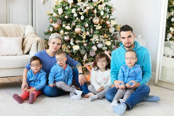 Семья Савиновских привлекла внимание органов опеки
