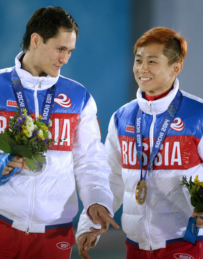 Гений Сочи Виктор Ан и Владимир Григорьев, завоевавший серебро в шорт-треке