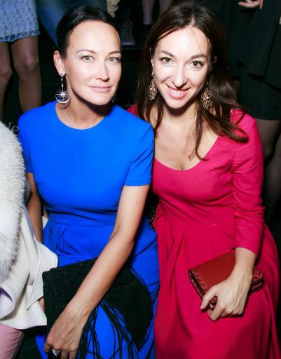 Ольга Новожилова и Мария Лобанова